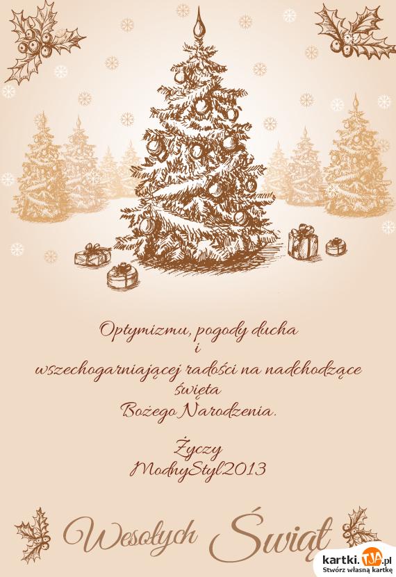 Życzenia świąteczne :))