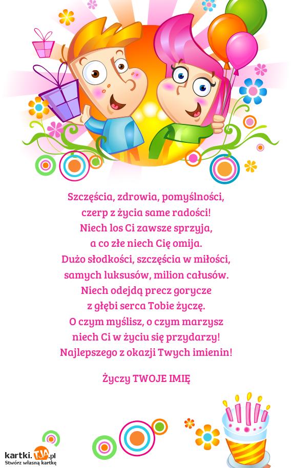 Chwalebne Kartka urodzinowa dla dzieci - stwórz własną ekartkę bez logowania! FE09