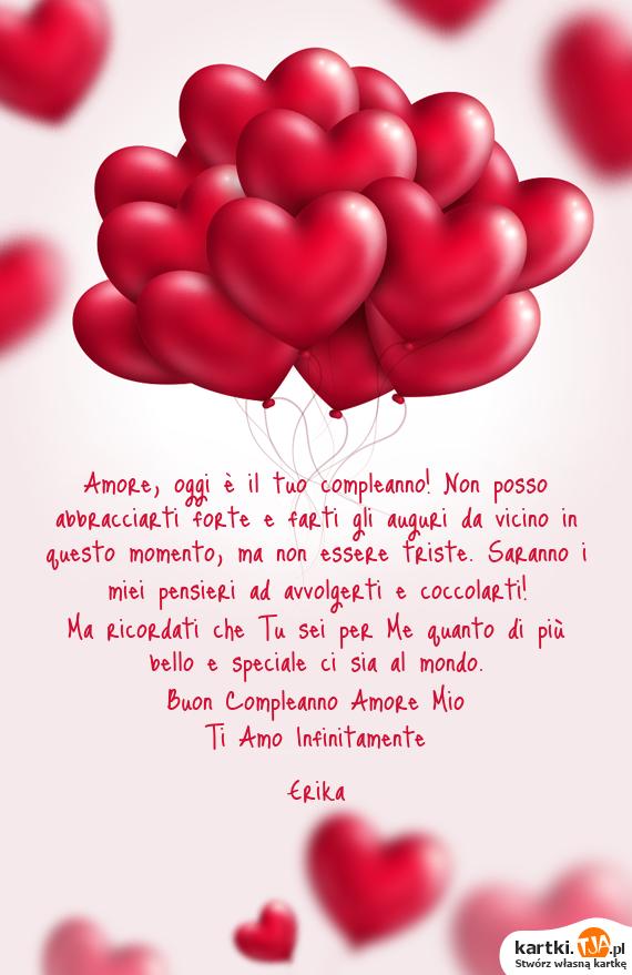 Buon Compleanno Amore Mio Darmowe Kartki
