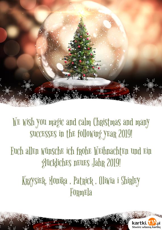 Wünsch Euch Allen Frohe Weihnachten.Euch Allen Wünsche Ich Frohe Weihnachten Und Ein Glückliches Neues