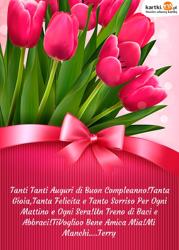 Buon Compleanno Amica Mia Mi Manchi Parquetfloor