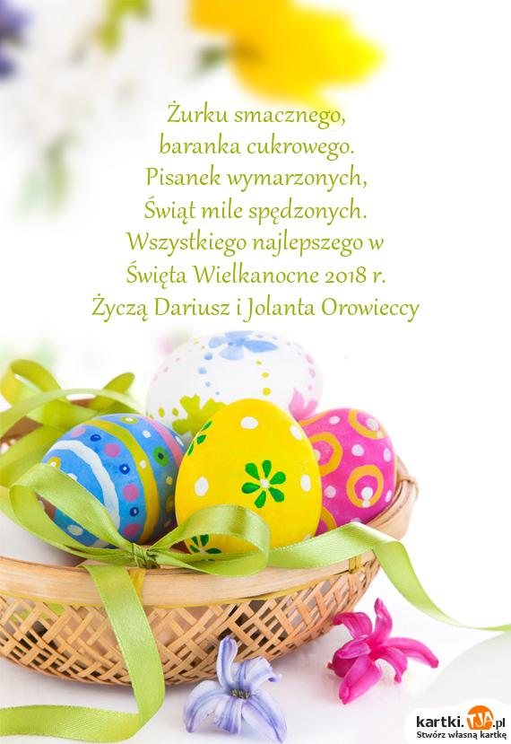 święta Wielkanocne 2018 R Darmowe Kartki