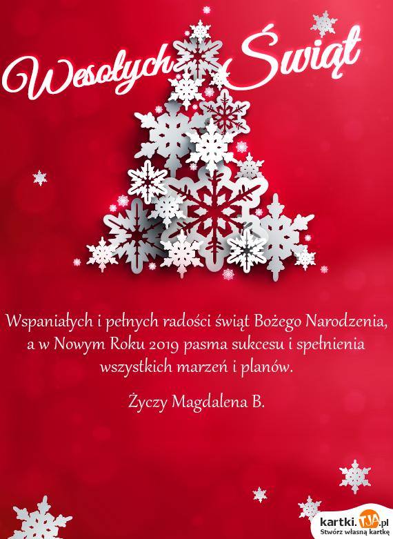 Wspaniałych I Pełnych Radości świąt Bożego Narodzenia A W Nowym