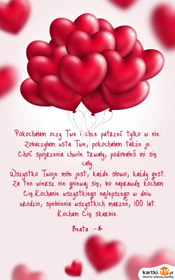 Za Ten Wiersz Nie Gniewaj Się Bo Naprawdę Kocham Cię