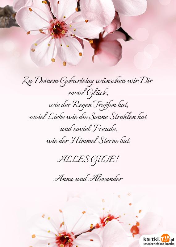 Wir Wünschen Dir Zum Geburtstag